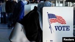 سبا امریکا کې انتخابات کیږي