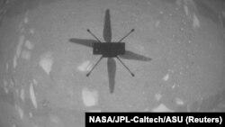 Летающий дрон в почти безвоздушной атмосфере Марса