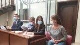 Светлана Прокопьева на суде
