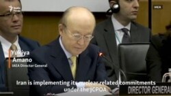 IAEA Director General Reports To The Board On Iran