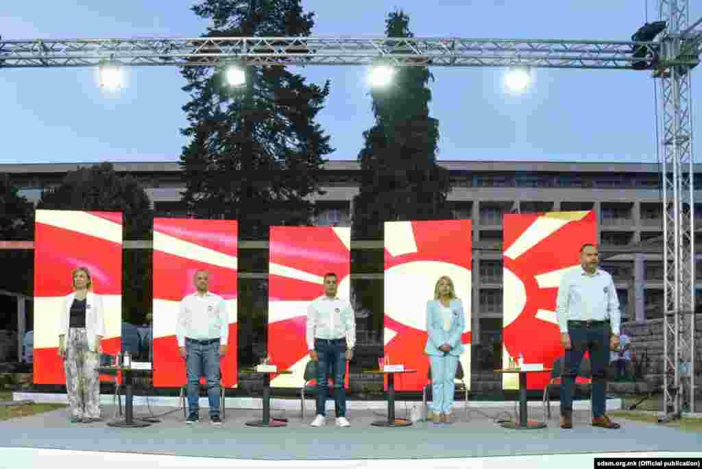 Партиска трибина на СДСМ во Охрид на 4 јули 2021