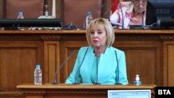 """Мая Манолова отново ще оглави комисията за ревизия на кабинета """"Борисов 3"""""""