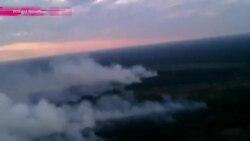 Чернобыль снова в огне