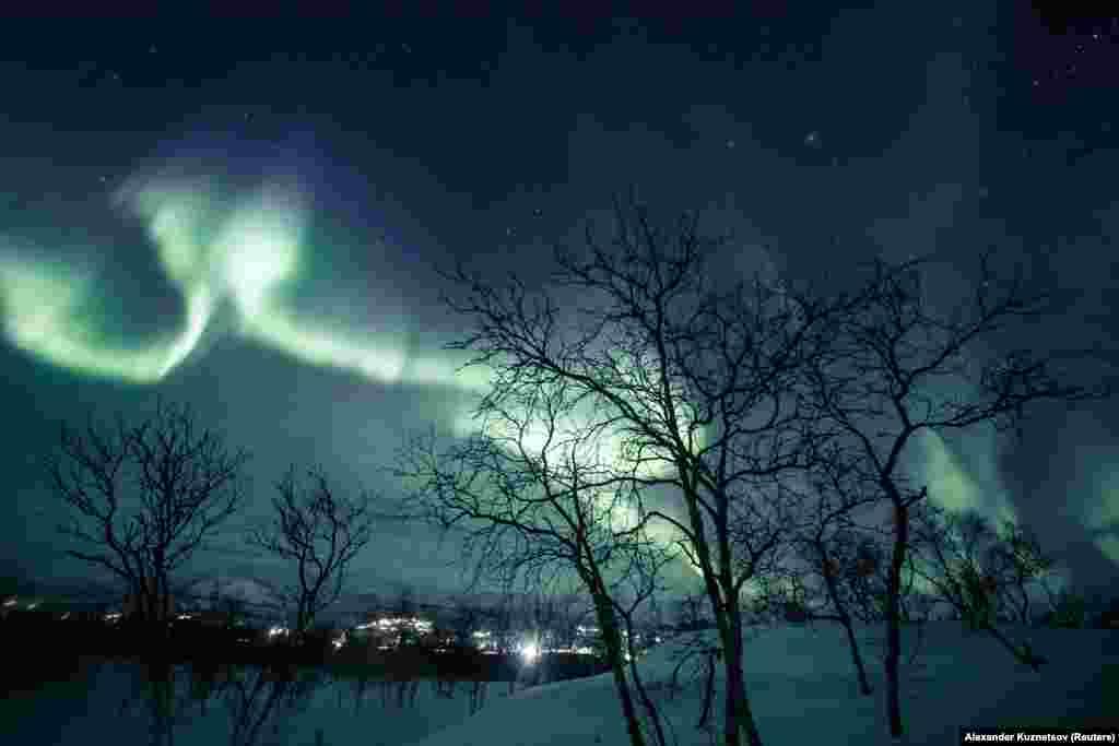 Ez kicsit délebbre készült, de szintén Finnországban.