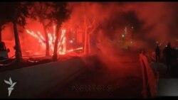 Taksim ətrafında qarşıdurma