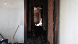 Будинок Гонтаревої після пожежі – відео зсередини