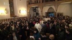 Грузинские католики отмечают Рождество
