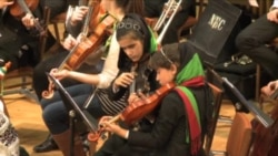 Afghan Youth Orchestra Heads Home After U.S. Tour