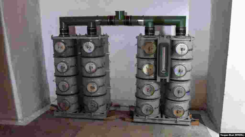 Часть фильтровентиляционной установки