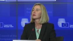 Federica Mogherini: Urmărim îndeaproape situația din R. Moldova