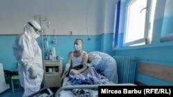 România - Imagine dintr-un spital Covid