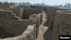Затерянный золотой город, Египет, 8 апреля 2021 года.