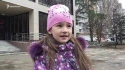 Діти Емір-Усеїна Куку приїхали до суду побачитися з батьком