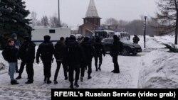 بازداشت مخالفان سیاسی کرملین توسط پولیس روسیه