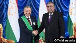 رئیسان جمهور تاجیکستان و ازبیکستان