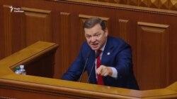 Народні депутати коментують мітинг під Радою (відео)