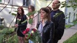 Коласаўскі ліцэй прыйшоў на школьную лінейку да суду