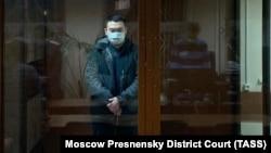 Евгений Есенов в суде. Москва, январь 2021 года.