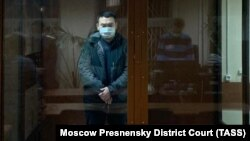 Yevgeny Yesenov in court earlier this year