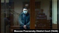 Евгений Есенов сотта. Мәскеу, қаңтар 2021 жыл.
