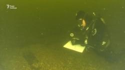 Науковці вивчають два старовинних судна біля берегів Хортиці