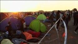 Jutro u izbjegličkom kampu u Mađarskoj
