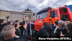 Пикеты на Дворцовой