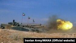 له اذربایجان سره پر ګډه پوله د ایران پوځي تمرینات