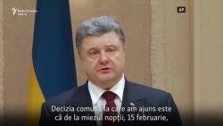 """De la """"Regele Ciocolatei"""" la comandant suprem: Președintele ucrainean luptă pentru realegere"""