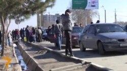 """Рақобати """"Asian Express"""" бо таксиҳо дар роҳи Душанбе-Турсунзода"""