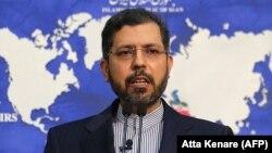 ირანის საგარეო საქმეთა სამინისტროს პრესსპიკერი საიდ ხათიბზადე.