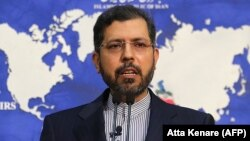 Iranian Foreign Ministry spokesman Saeed Khatibzadeh