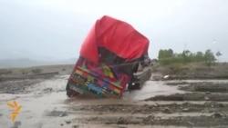 Continuing Floods Block Transit In Pakistan