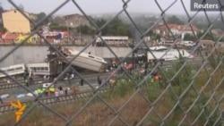 Десятки погибших в крушении поезда в Испании