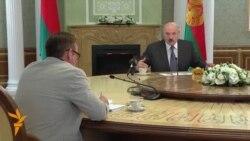 Лукашенко: «Ми б воювали за кожен метр нашої землі»