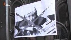 Громадські активісти у Львові підтримали відставку генпрокурора Віктора Шокіна (відео)
