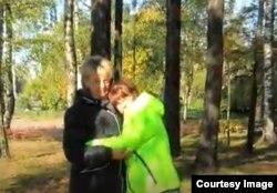 Маша Тышко с мамой