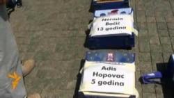 Protest u Prijedoru za pravo na jednakost i sjećanje
