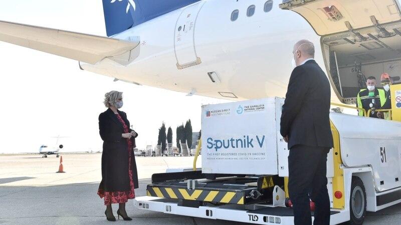 Drugi kontigent Sputnik V vakcina stigao u Crnu Goru