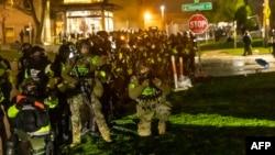 Forcat e sigurisë gjatë protestave në Mineapolis.