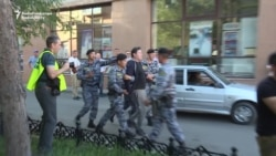 Detentions In Kazakh Capital As It Marks City Day, Ex-Leader's Birthday