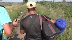 Sa sirijskim izbeglicama do mađarske granice