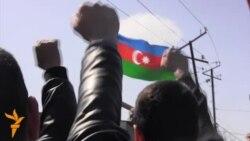 Акция протеста в Нардаране