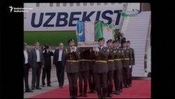 Uzbeks Bring Strongman Karimov To Gravesite