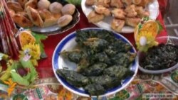 Ազգային տոնածիսական կերակրատեսակների ցուցահանդես-փառատոն Երեւանում