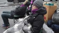 Голодовка у стен СИЗО в Москве