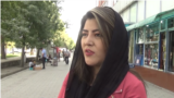 Tajikistan - Freshta Hosseini, a women's rights activist and competitive athlete, fled Afghanistan after Taliban threats - screen grab