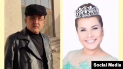 """Өзбекстандын эл ырчысын Нукустагы """"Эл кызматында"""" гезити сотко берди."""