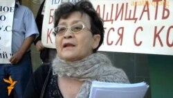 Протест у городского суда Алматы