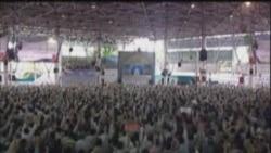 علی خامنهای، رهبر جمهوری اسلامی،در نماز جمعه